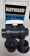 Hayward TB10050ST Plastic Valve - NEW 1 Inch PVC True Union Ball Valve