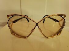 Vintage Christian Dior 2056 Austria Butterfly Eyeglass Frames 67-03