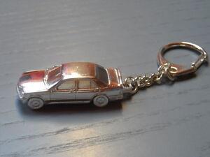 Mercedes 190E 2.3-16 Anhänger  Schlüsselanhänger -versilbert- Keyring