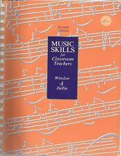 Music Skills for Classroom Teachers by Robert W. Winslow and Leon Dallin (1987,