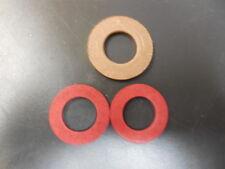 Hobart 4812 # 12 Meat Grinder  Fiber Worm Washer & Cylinder Brass Thrust Washer