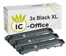 3x TONER BK für BROTHER Laser Printer MFC9142CDN MFC9332CDW MFC9342CDW XL