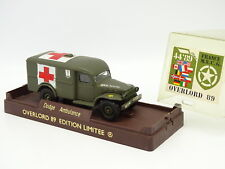Solido Militaire Armée 1/50 - Dodge Ambulance  - Overlord 1989