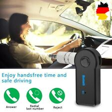 Bluetooth car kit mini Wireless Adapter Auto 3.5mm aux transmisor de automóviles de audio
