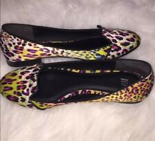 H&M Multi Color Cheetah Flats Size 6
