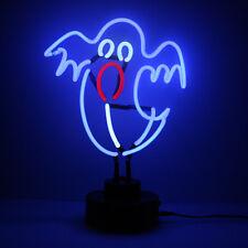 Casper The GHOST Neon Light Sculpture Party Decoration Desk Halloween Lamp