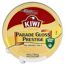 Kiwi Parade Gloss Shoe Polish High Gloss Neutral Boot Army Cadet Neutral