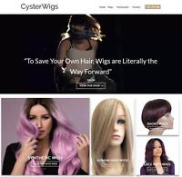 Hair Wigs Website For Sale - Earn $191 A SALE. Free Domain|Hosting