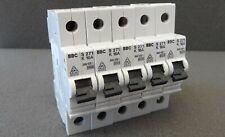 5x Sicherungsautomat ABB BBC S271-K16A Leitungsschutzschalter LS-Schalter K 16A