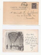 37) 1900 World Exhibition during Olympic Games card machine cancel Paris Expo