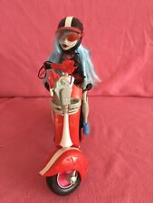 Monster High Ghoulia Yelps Doll +   Scooter  ~ Bag  + Glasses