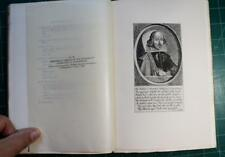 Catalog of Exhibition Text of Shakespeare's Plays Engravings 1916 Bibliography