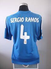 Sergio Ramos #4 Camiseta Jersey Real Madrid Alternativa de fútbol 2013/14 (L)