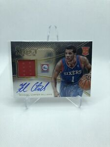 2013-14 Panini SELECT Michael Carter-Williams JERSEY ROOKIE AUTO