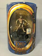 The Lord Of The Rings Smeagol Return Of The King Action Figure Talks Toy Biz NEW