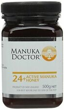 Manuka Doctor 24+ Active Manuka Honey 500g Bbe 09/2019