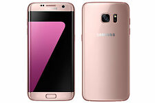 "Samsung India Warranty Galaxy S7 Edge Duos 32GB 4GB 12MP 5.5"" 4G LTE Pink Gold"