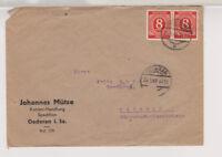 All.Bes./Gemeinsch.Ausg. Mi. 917/Paar, OLrtsbf. Oederan 29.5.46