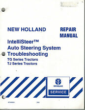NEW HOLLAND  IntelliSteer AUTO STEERING SYSTEM REPAIR  MANUAL