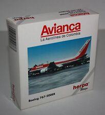 Herpa Wings-Avianca-Boeing 767-200ER-Maßstab/Scale 1:500-Sammlung-Modell #502863