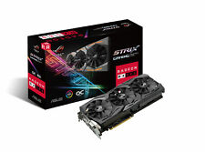 Componente PC ASUS grafica Rog-strix-rx580-o8g-gaming