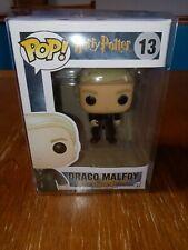 Draco Malfoy with wand #13 Funko Pop! Harry Potter New damaged Box 2016