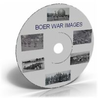 Boer War campaign images, Historic photo picture CD collection