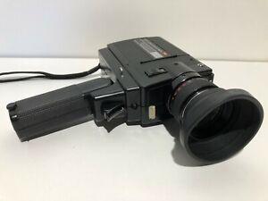 Vintage Elmo Super 8 Sound 350Sl Macro Camera -Untested Spares & Repairs