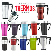 Thermos Travel Mug Cup Tea Coffee Camping Insulated Travel Tumbler