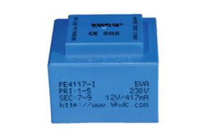 YHDC PCB welding isolation transformer PE4117-I 5VA 110V/12V