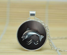 Game Of Thrones House Tully Necklace Pendant Glass Photo Cabochon Necklace