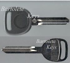 Replacement Key Blank Fits Buick Cadillac Pontiac Saturn Suzuki And Other Models