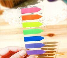 140 un. colorido Flecha índice Adhesivo Memo notas Marcador Señalador De Etiquetas