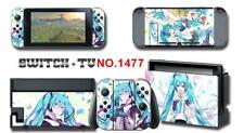 Miku Hatsune Anime Skin Aufkleber Stickers Schutzfolie Für Nintendo Switch