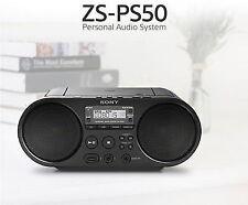 Sony Portable Radio Mp3 CD Player USB Audio 80mm Full Range Stereo Speaker V E
