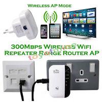 Sans fil répéteur wifi n 300 mbps 802.11 AP Routeur extender booster EU Plug