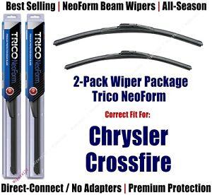 2pk Super-Premium NeoForm Wipers fit 2004-2008 Chrysler Crossfire - 16200/220