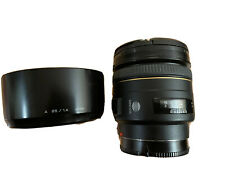 Minolta AF 85mm F1.4 G Lens Sony A Mount