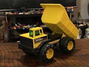 Vintage TONKA Mighty Diesel Dump Truck Excellent Construction Toy Antique Vtg