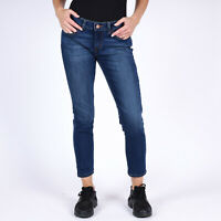 Levi's 535 Cropped Skinny Damen blau Jeans DE 36 US W29