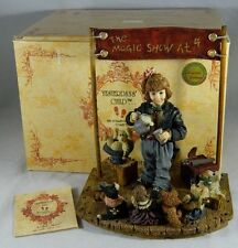 Boyds 1997 Limited Edition Yesterdays Child The Amazing Bailey Magic Show at 4