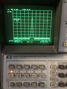 HP 8568A Spektrumanalysator 100Hz-1,5GHz +Display spectrum analyzer 8568 A