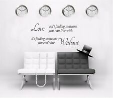 Removable Art Quote Wall Decal Stickers Bedroom Mural Vinyl Bedroom Home Decor