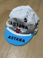 Astana Team Cycling Cap One Size Sponsored By Würth White & Blue