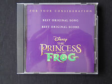 The Princess and the Frog Disney Original For Your Consideration FYC Soundtrack