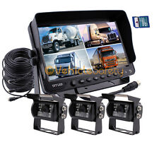 "9"" Monitor DVR Recorder CCTV Car Rear View Camera System Backup Camera for Truck"