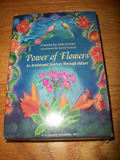 POWER OF FLOWERS* An Archetypal Journey Through Nature* SEALED DECK!