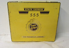 State Express 555 Litho Cigarette Tin Case