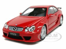MERCEDES CLK DTM AMG COUPE RED 1:18 DIECAST MODEL CAR BY KYOSHO 08461