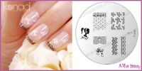 Konad Stamp Nail Art Design Image Plate M71 GIRLY LACE